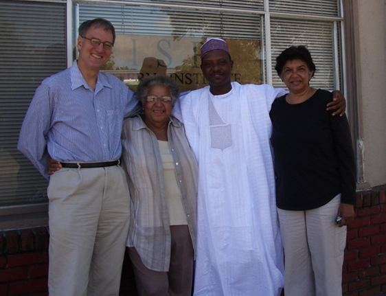 John Bilorusky and Cynthia Lawrence, with former student, Mohammed Ibrahim and former faculty member, Nazreen Kadir