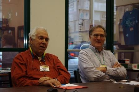 Former WISR Board Member, Dr. John Bear and WISR President, Dr. John Bilorusky, at Annual Conference