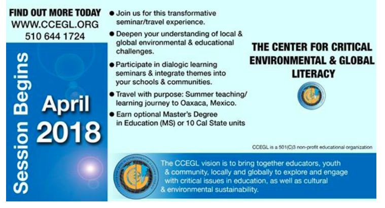 Center for Critical Environmental and Global Literacy